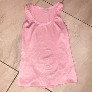 Pink muscle tee blouse 👚
